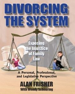 Divorcing The System By Alan Frisher with Wendy Scheuring is the gripping story of how one man's unforeseen, acrimonious divorce later led him on a march to Tallahassee to fight for all Floridians' rights,